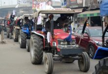 Photo of Guidelines For Tractor Rally: No Weapons, No Provocative Slogans