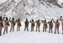 Photo of ITBP's R-Day March With Tricolour At 17,000 Ft
