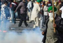 Photo of Police Fires Tear-Gas Shells On Farmers At Two Places In Delhi