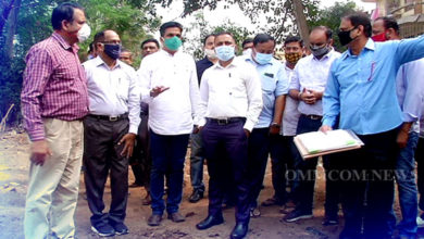 Photo of BMC Commissioner Reviews Civic Issues In Ward No.36