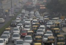 Photo of Traffic Goes For A Toss As Farmers Choke Roads In Delhi