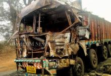 Photo of Coal-laden Truck Catches Fire In Rayagada