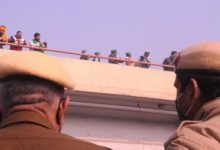 Photo of Heavy Police Deployment At Ghazipur Protest Site